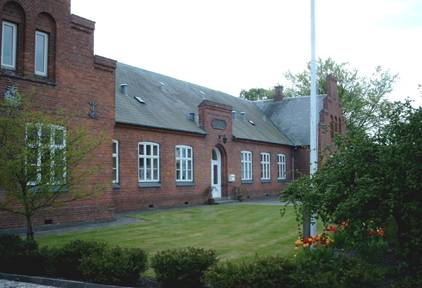 Den Hørningske Stiftelses hovedbygning fra 1880