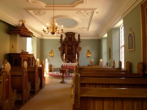 Klosterkirken fra 1701