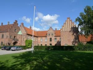 Hovedbygningen fra 1565