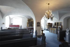 Klosterkirken benyttes til almindelige kirkehandlinger