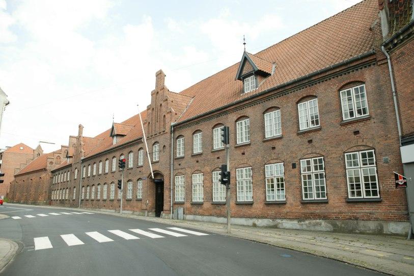 Slagelse Kloster, med Helligåndskirken